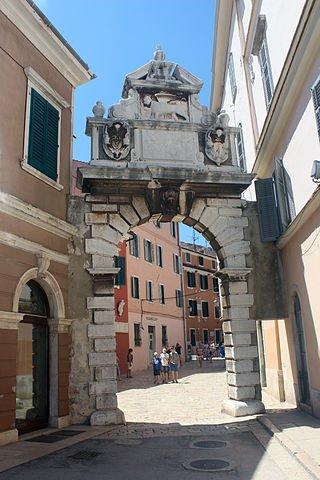 Rovinj - Porta Balbi