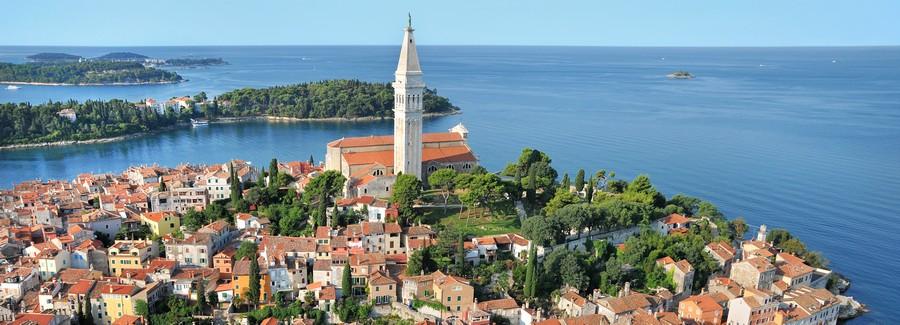Beliebt im Istrien-Urlaub: Rovinj am Meer